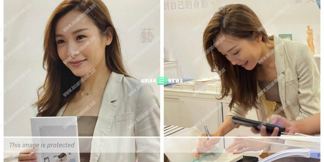 Book Exhibition 2021: Ali Lee stays for 10 minutes and signs for her new book