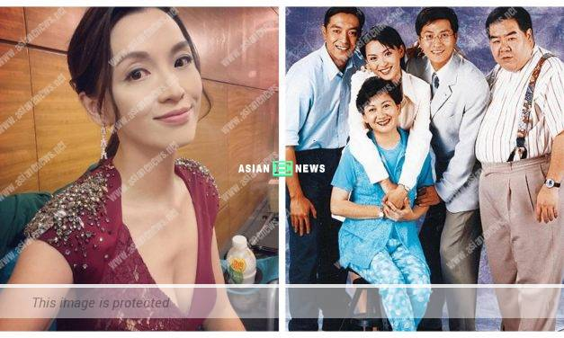 No changes? Alice Chan shows an old photo taken IN ATV DRAMA
