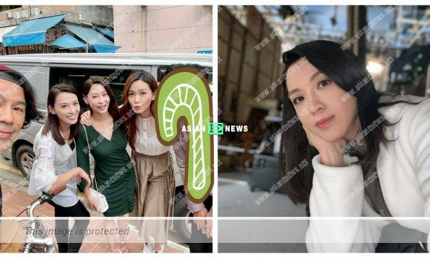 Joe Ma becomes the highlight in Alice Chan's latest photo