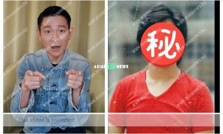 Andy Lau posts his old photo: Do you regret to choose me as your idol?
