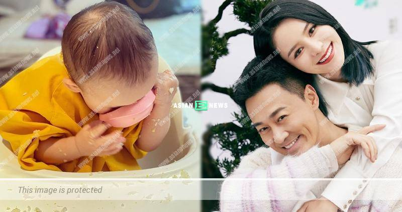 Carina Zhang trains her daughter to eat by herself but it turns out to be a failure
