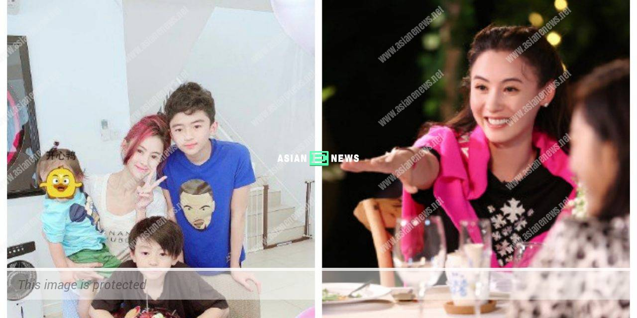 Cecilia Cheung allows her sons to join show business