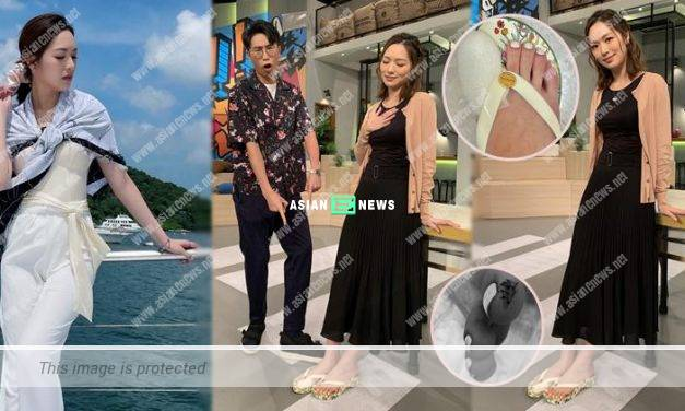 Crystal Fung has another accident at the yacht