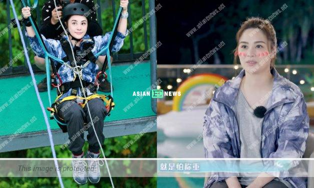 """Gillian chung is fearless when challenging """"devil swing"""" except for one issue"""
