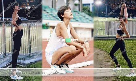 Expecting Inez Leong goes for jogging; Tony Hung told her to run slowly