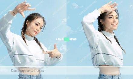 Professional Joey Yung jumps 20 times in the advertisement