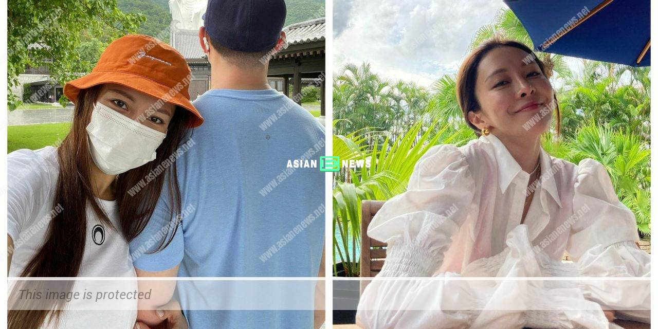 Kelly Cheung reveals the back view of her boyfriend after dating for 5 years