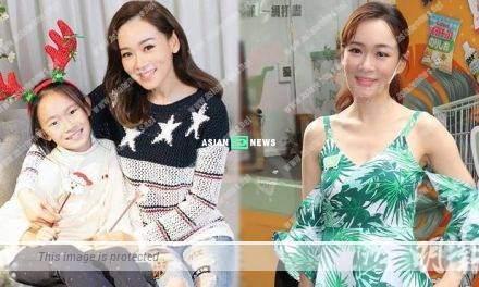 Shirley Yeung arranges her daughter to learn swimming since little