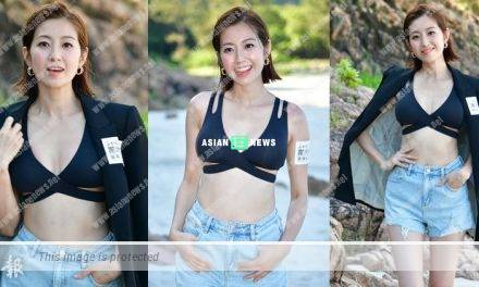 Yoyo Chen shows a sexy yet healthy look in breast enhancement advertisement