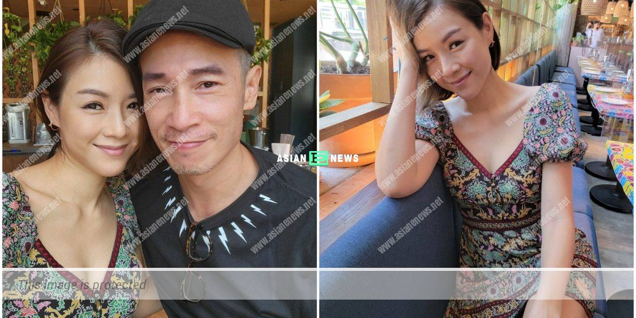 40-year-old Aimee Chan shows her flawless skin without makeup