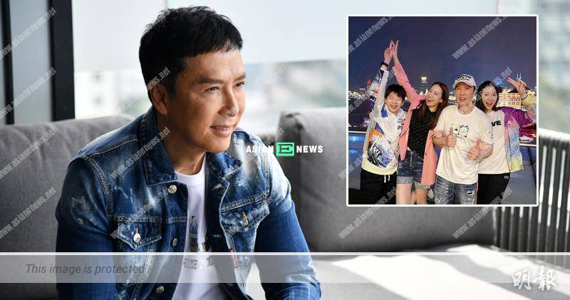 Too suffering? Action Star Donnie Yen disallows his son to follow his footsteps