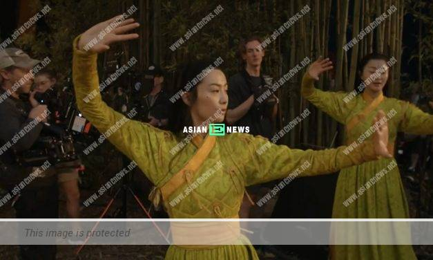 Fala Chen specially learns tai chi in Marvel action film