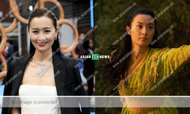 Daring Fala Chen signs the contract without full details about her role