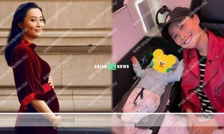 Fala Chen shows her old pregnancy photo which causes a beautiful misunderstanding