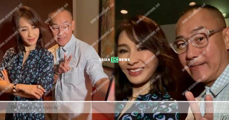 Gigi Lai feels happy whenever meeting up with Bowie Lam