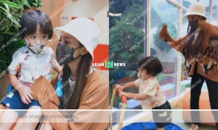 Grace Chan praises her eldest son Rafael adjusts to new environment quickly