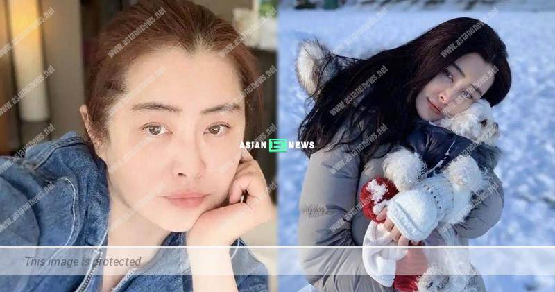 54-year-old Joey Wong shows her new photos without makeup