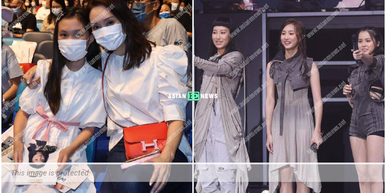Kenix Kwok takes her beloved daughter to a concert