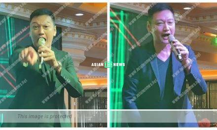 Michael Tao sings Andy Lau's song but out of tune at the pub