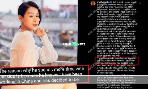 Myolie Wu writes the wrong word which angers the Chinese netizens?