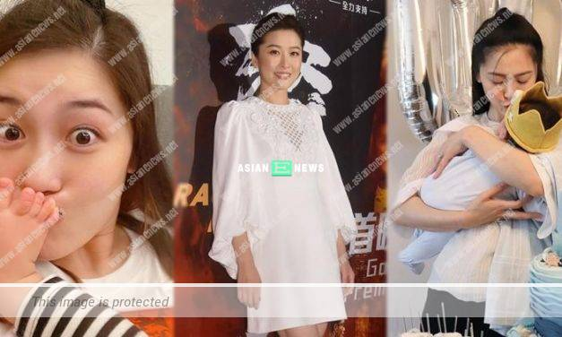 Niki Chow remains fit after giving birth to a baby boy