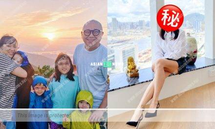 Bob Lam's wife Pearl Wong becomes slim and beautiful