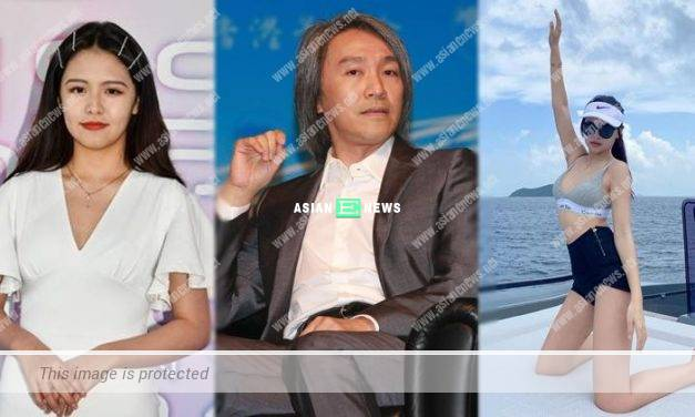 59-year-old Stephen Chow is wooing 17-year-old Ukei?