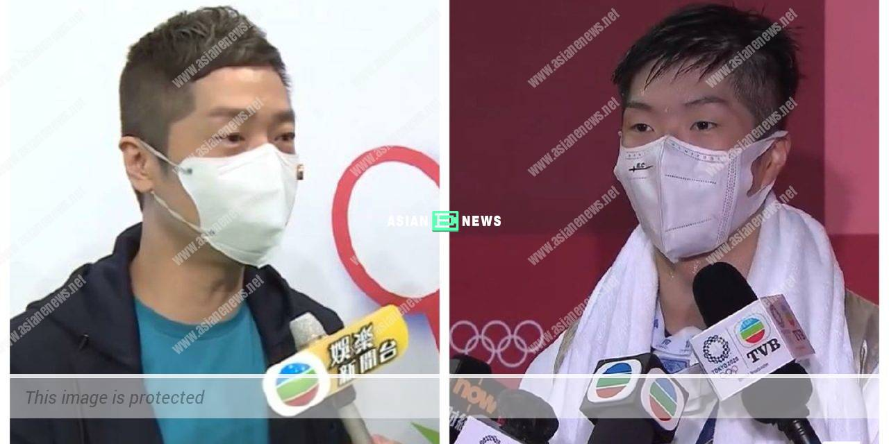 Resembling Hong Kong fencer Edgar Cheung? Steven Ma reckons it is because of their eyes