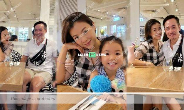 Aimee Chan's daughter Camilla takes a candid photography of their embarrassing moment