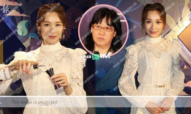 Ali Lee does not keep in contact with former TVB Executive Sandy Yue