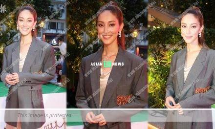 Grace Chan discloses her eldest son has little reaction when seeing her advertisement shoot