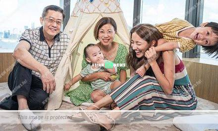 Grace Chan takes her son for staycation before the school is reopened