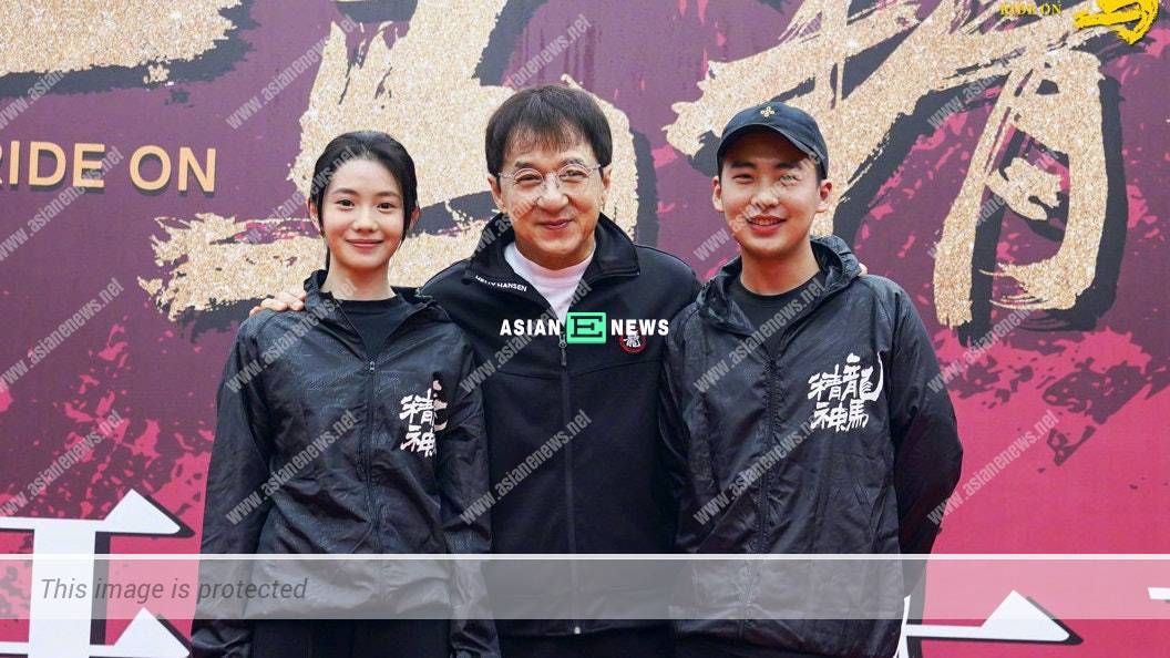 """Jackie Chan treats his horse as """"son"""" in new film"""