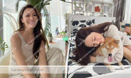 Luxurious life? Kelly Cheung lives in a big mansion