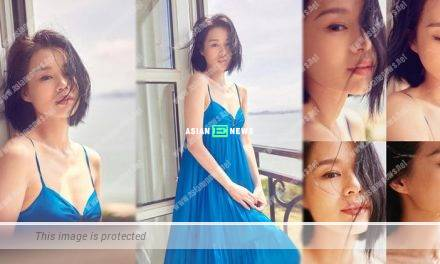 Myolie Wu resembles a young girl in her new photos