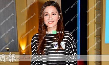 Roxanne Tong has leg injury when walking down from the staircase