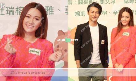 Stephen Wong feels stressful when filming intimate scene with Roxanne Tong