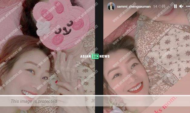 Sammi Cheng feels happy to chat together with her mother