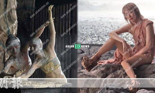 """Singer Sammi Cheng acts as a """"mud"""" person in her new MV"""