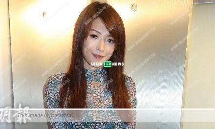Singer Shiga Lin dislikes to talk about her relationship with Carlos Chan