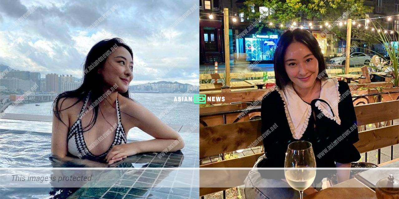 Jeannie Chan goes to a champagne party in Canada