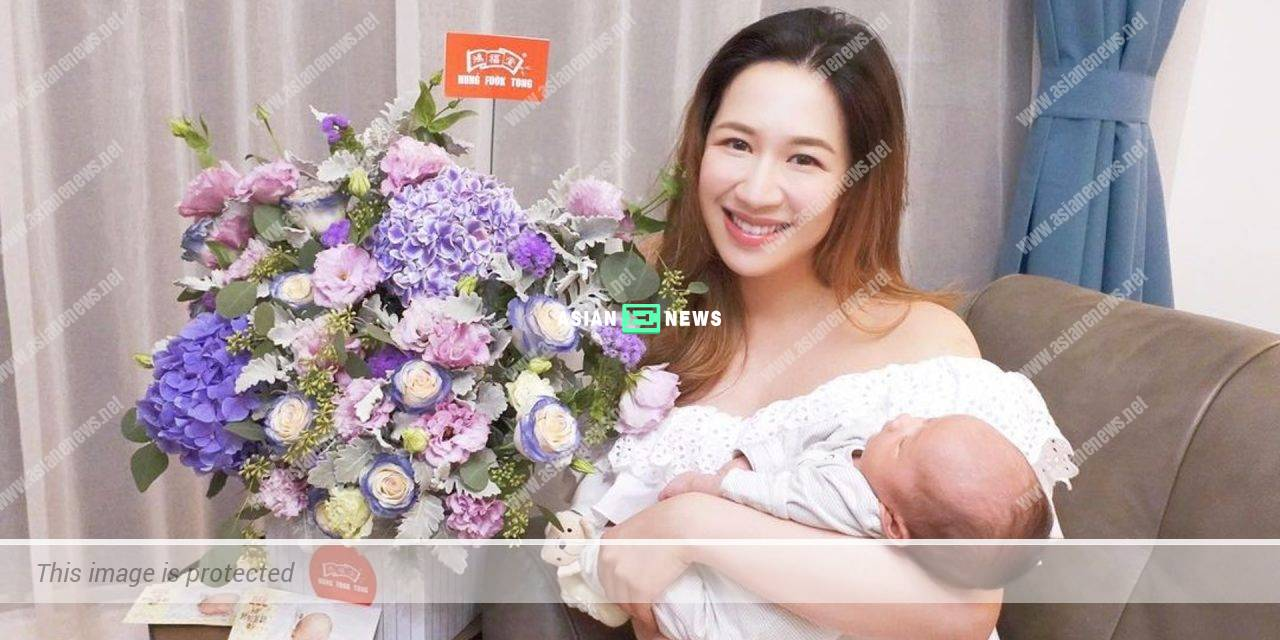Jennifer Shum remains energetic and slim after the pregnancy