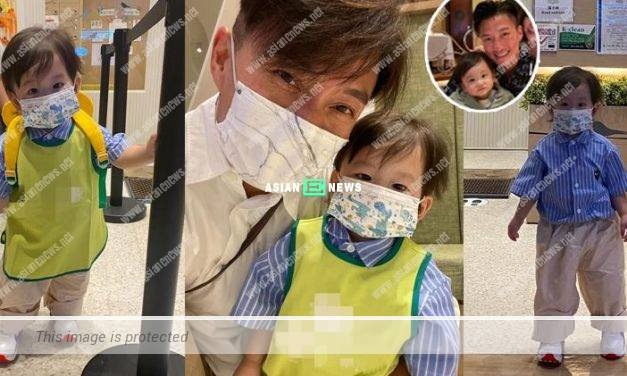 Joel Chan takes his 1 year old son to playgroup