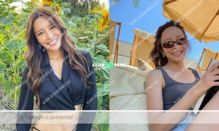 Kelly Cheung remains beautiful in casual wear without makeup
