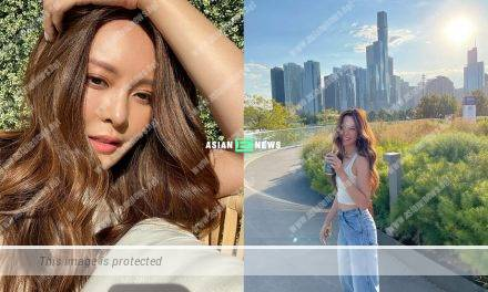 Kelly Cheung shows sexy photos again; She returns to Chicago safely