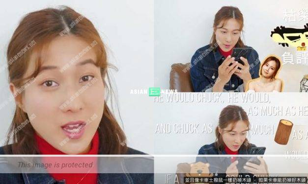 Linda Chung plays tongue twister in English and Cantonese