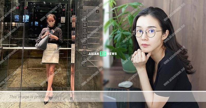Hardworking Louisa Mak returns to work after resting for a few hours