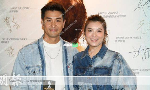 Sweet couple Ruco Chan and Phoebe Sin give compliments to each other