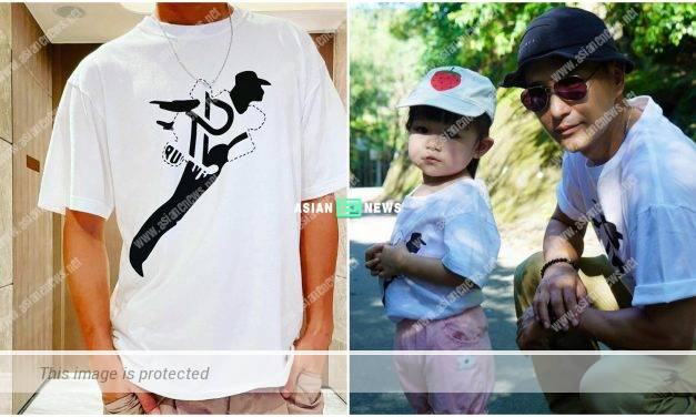 Ruco Chan's wife Phoebe Sin designs a t-shirt for his fans