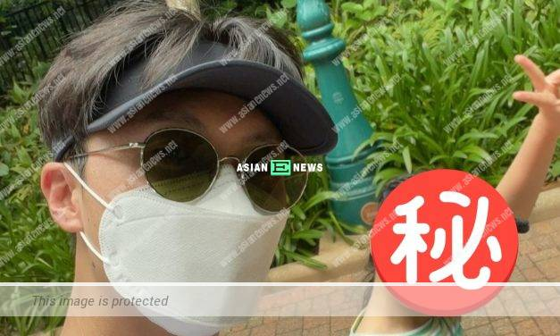 Where is Yoyo Chen? Vincent Wong takes his daughter to Disneyland?